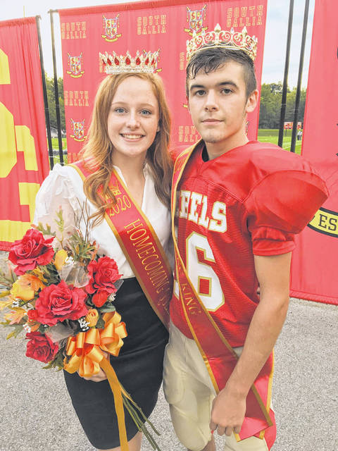 Isabella Cochran and Scotty Murphy, pictured, were named the 2020 Homecoming Queen and King, respectively, at South Gallia High School.