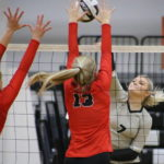 Lady Spartans march past River Valley