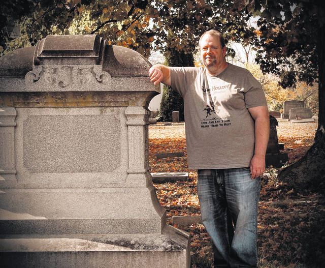 Author James Howell of Cincinnati and formerly of Gallia County, pictured, has released a horror anthology which utilizes familiar locations throughout the county. (Jennifer Howell | Courtesy)