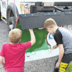 Painting the plow