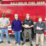 Donation benefits area first responders