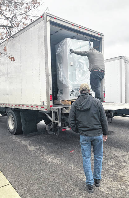 Freezers arrived at the Gallia County Health Department this week in preparation to distribute the COVID-19 vaccine. The department's first shipment is expected next week. (Gallia Health Department | Courtesy)