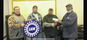Local 1685 donates to toy drive