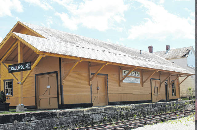The Gallipolis Railroad Freight Station Museum is setting its sights on $75,000 of capital budget funds to finish the floor of its interior exhibit area and more. (OVP File Photo)