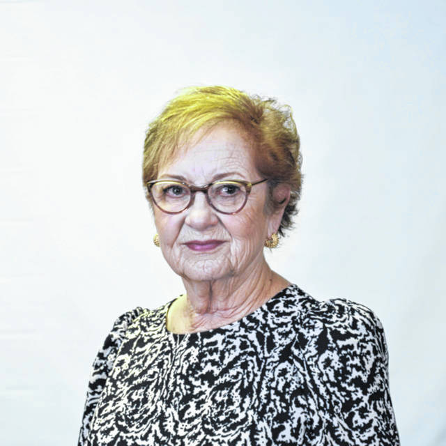 """Hilda Austin, the director of the Mason County Chamber of Commerce, pictured, recently published her second book, """"Granny Moon."""""""