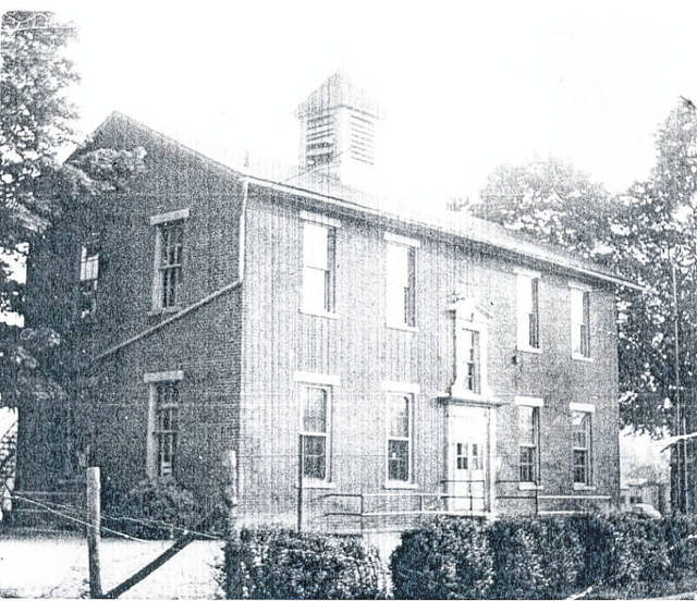 A photo of Lincoln School provided by the Gallia County Historical Society. (Courtesy)