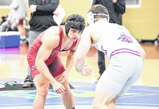 Rio Grande's Kiah Smith posted a fifth-place finish in the 174-pound division of the Mid-South Conference Wrestling Tournament, last Saturday, in Bowling Green, Ky.