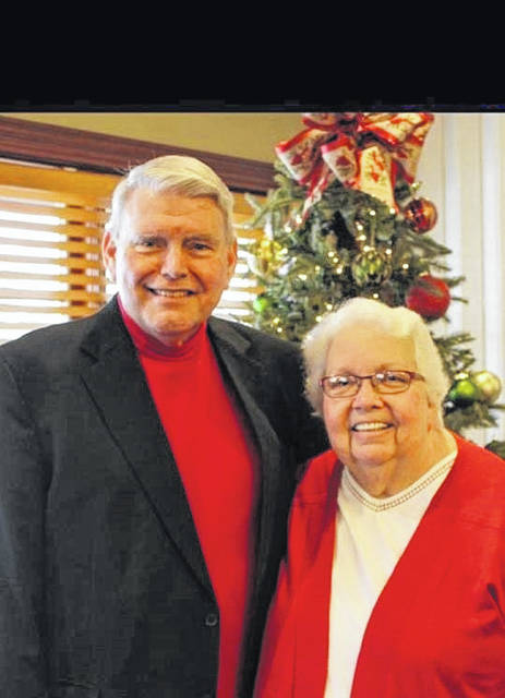 Rev. Ronald G. Heath with wife Alice. (Courtesy photo)