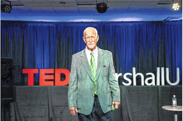 Former Thundering Herd Assistant Coach Red Dawson appeared at Marshall University's TedX event April 2. (Marshall University | Courtesy)