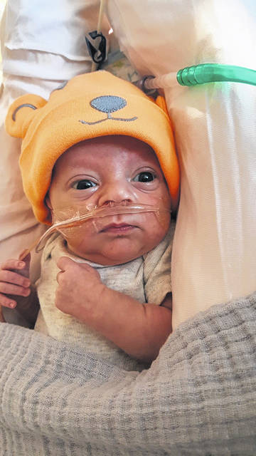 Samual Eddy, pictured, is the namesake of the Samual Zion Foundation, which aides, and raises awareness for, families and people dealing with Congenital Diaphragmatic Hernia (CDH).