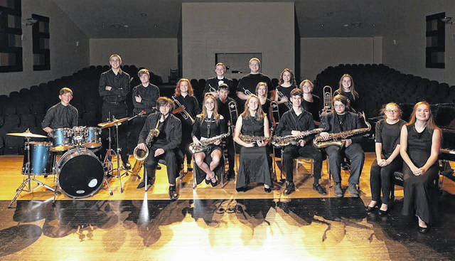 Pictured are members of the Gallia Academy High School Jazz Band in March 2020, just prior to schools going to remote learning following the arrival of the pandemic.