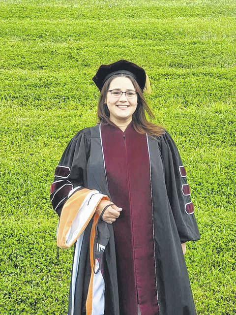 Dr. Amber Nowlin, DNP, RN, pictured, recently earned her terminal degree in nursing at Eastern Kentucky University, obtaining a Doctorate in Nursing Practice with an emphasis in Organizational Leadership (DNP).