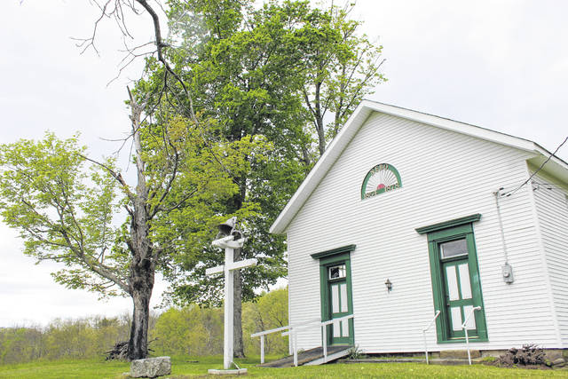 The Nebo Congregational Church is part of the Welsh Scenic Byway.