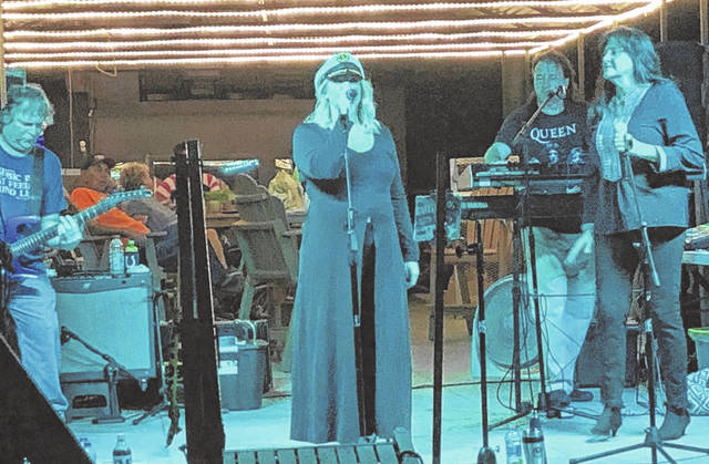 Next Level is pictured performing during the 2020 Pomeroy Sternwheel Regatta. The group will play Mayor's Night Out on Friday in Point Pleasant.