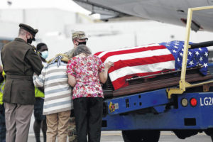 WWII soldier's long journey home