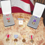 White's medals to be displayed