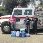 Lodge donates to fire department
