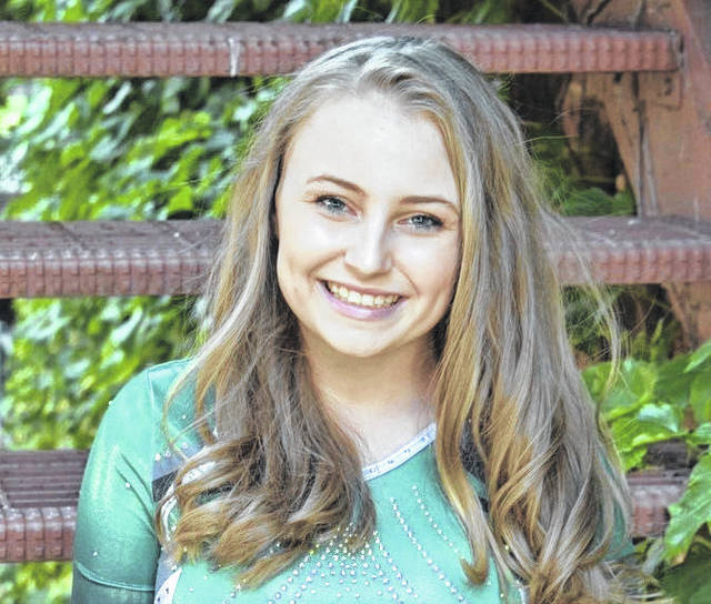 Olivia Harrison, a member of the Willpower Tumbling Team, recently placed fifth at the USTA National competition.