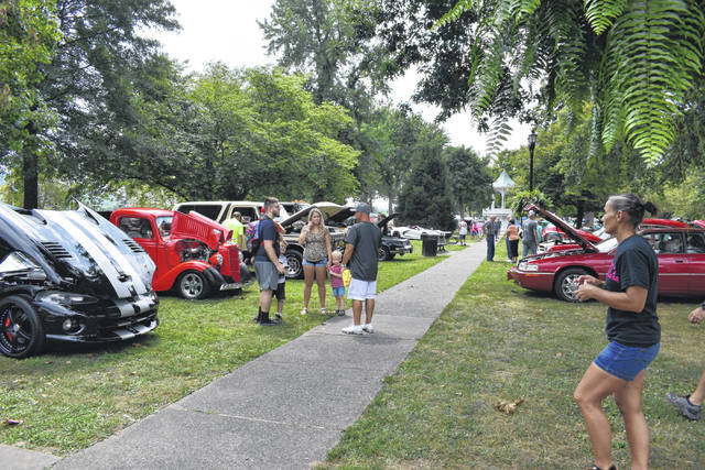 Vehicles of all types were showcased at the 43rd annual car show hosted by the Gallipolis Car Club.