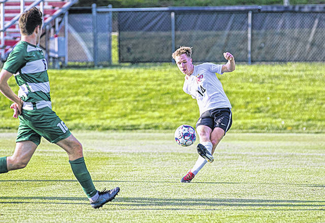 The return of Rio Grande's Charlie Chechlacz is one reason that the RedStorm have been tabbed as the top team in the River States Conference preseason men's soccer coaches' poll. Rio received seven of the 11 first-place nods in the balloting.