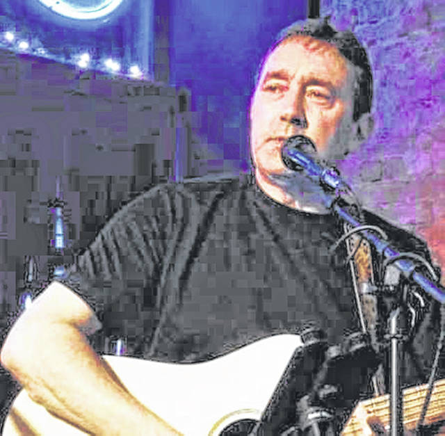 Local musician Brent Patterson, pictured, will be performing at Saturday in the Park, this Saturday, from 5:30-7:30 p.m.