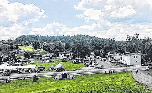 A view of the Meigs Heritage Festival which also features a Vintage Car Show in Chester.