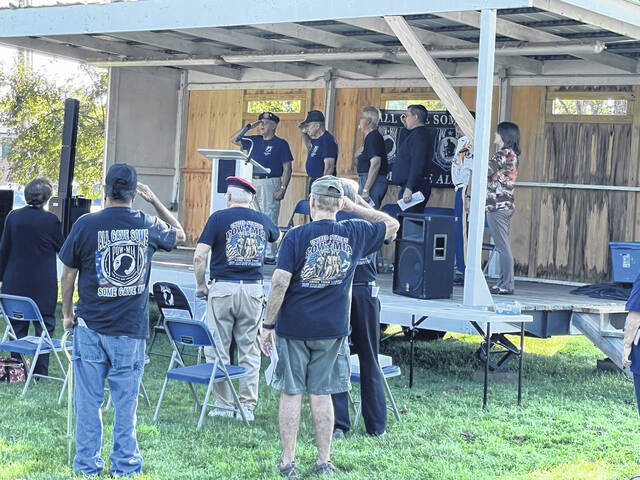 Veterans and community members gathered to honor those POW and MIA military members.