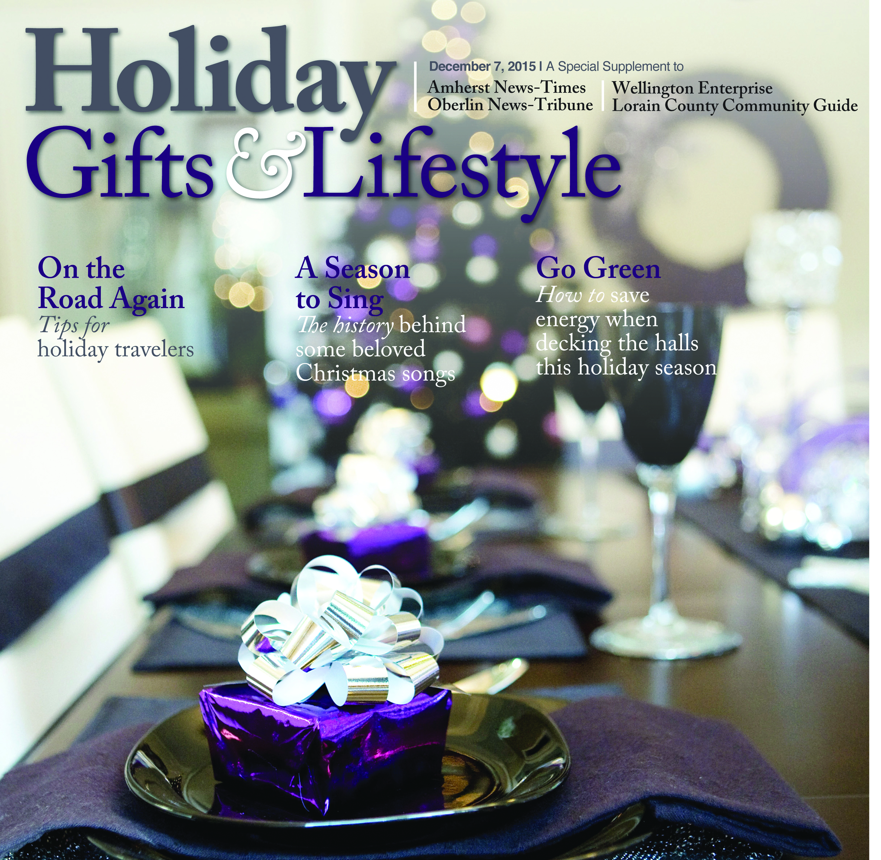 Holiday Gift & Lifestyle December 2015