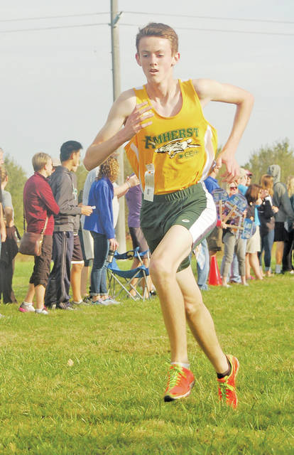Sophomore Matthew Kirsch ended his season Saturday after a great showing at regionals.