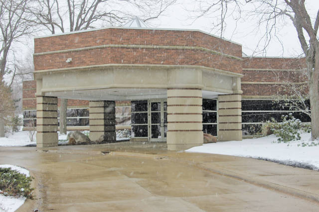 The building at 300 Nordson Dr. is being renovated to accommodate more jobs as the Nordson Corporation brings its global business operations office to Amherst.