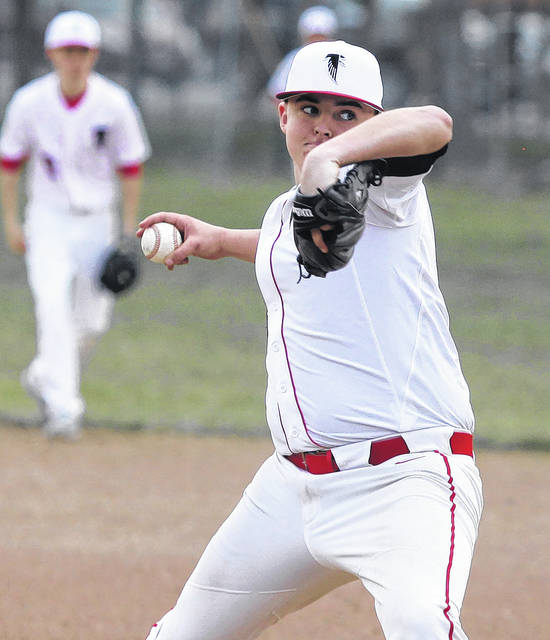Hunter Willbond of Firelands pitches in relief against Lake Ridge on Friday.