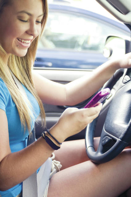 Taking your eyes off the road for just two seconds doubles your chances of being involved in a crash. Federal statistics say 59 percent of all teen crashes involve some form of driver inattention and 12 percent of teen crashes involve cell phone use.