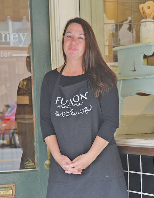 Like Lainey owner Diane Allison has always loved giving old items new life. Now she's doing that at her shop on Church Street.
