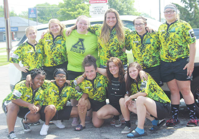 Amherst Steele girls rugby holds a car wash July 14 at Ali's Sunoco Gas on Rt. 58.