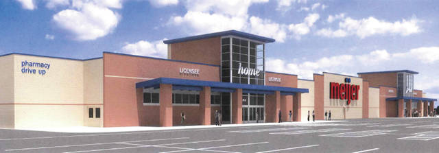 This rendering shows what a new Meijer on Cooper Foster Park Road will look like when it opens in 2020.