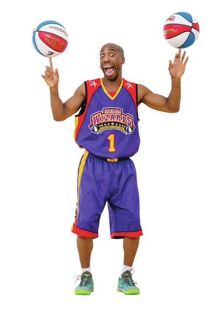 Arthur Lewis, AKA King Arthur, has been a member of the Harlem Wizards since 2009. He's on one of the team's four traveling squads.