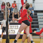 VOLLEYBALL: Falcons sink Pirates