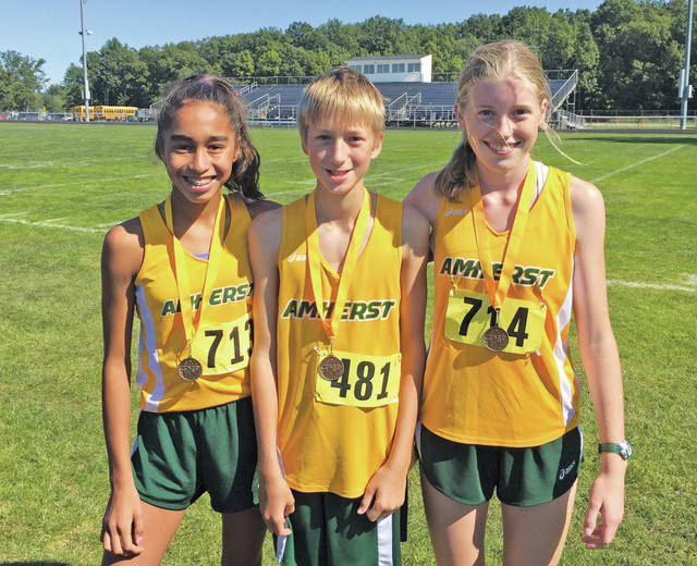 Comets top 10 finishers include Catherine Turner, Jeff Keiffer, and Aurora Wilson.