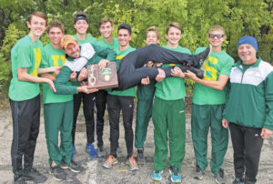 BOYS CROSS COUNTRY: First district title in 28 years