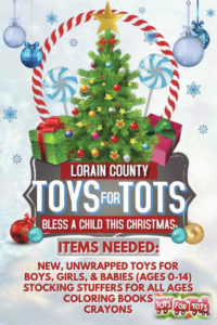 TOYS FOR TOTS: Share the joy of a gift