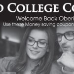 College Coupon Book