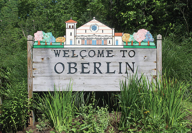 Signs welcoming visitors to Oberlin will change to add to a connective and meaningful atmosphere.