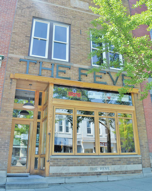 Solar panels mounted atop The Feve on July 20 are already slicing away at the restaurant's energy bills.