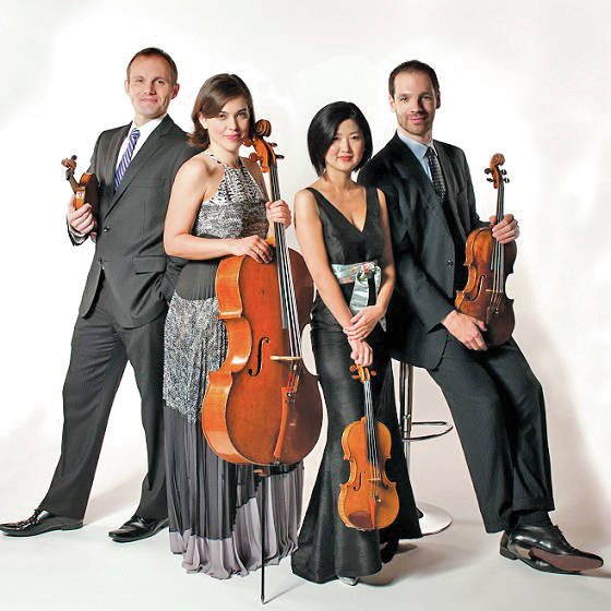 The Jasper String Quartet will welcome listeners to both Heiser Auditorium and Kulas Hall during the Credo Music Festival.