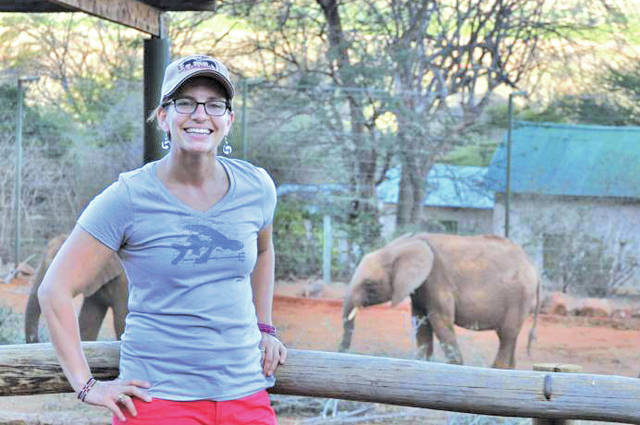Sophia Weinmann is completing graduate work in international conservation and wildlife protection.