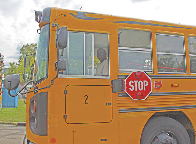 Mikah Jones drives 50 kids to and from school every day.