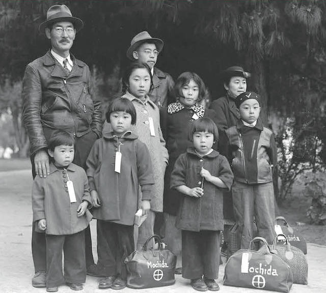 The experiences of Japanese Americans such as those pictured will be part of a month-long exhibition in Oberlin starting Feb. 17.