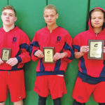 Three wrestlers place at Columbia Invitational