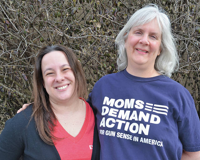 Pam Vandersommen and Laura Irvin are starting a local chapter of Mothers Demanding Action, saying it's time for common sense measures to prevent gun violence.