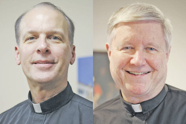 After Fr. Robert Cole's retirement July 1, Fr. David Trask will lead both Sacred Heart Catholic Church in Oberlin and St. Patrick Catholic Church in Wellington.